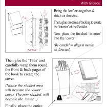 Bookbinding Leaflet 3