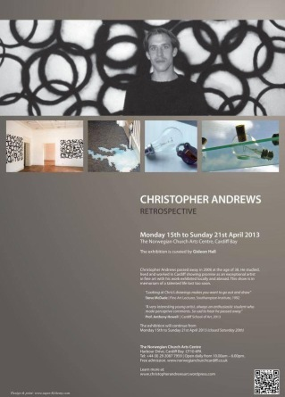 Poster for The Christopher Andrews Retrospective (2013)