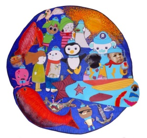 Mixed Media Child's Artwork (2014)