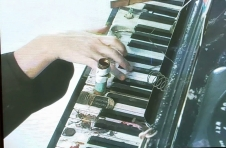 Still from video of 'Prepared Piano'